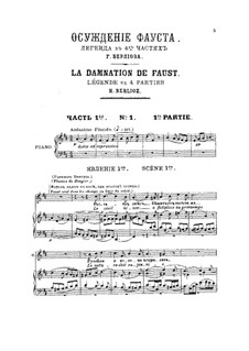 Fausts Verdammnis, H.33: Teil I by Hector Berlioz