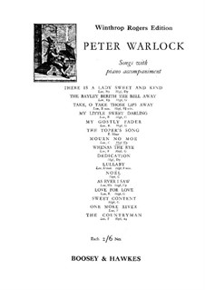 Mourn No Moe: Mourn No Moe by Peter Warlock