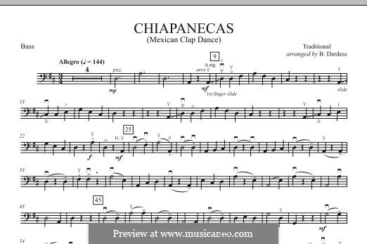 Chiapanecas: Bassstimme by folklore