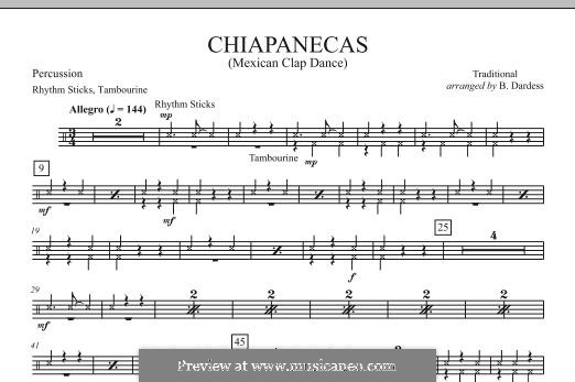 Chiapanecas: Schlagzeugstimme by folklore