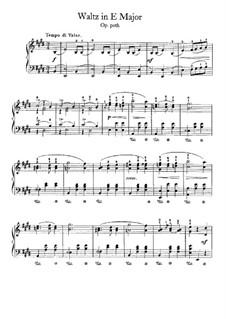 Walzer in E-Dur, B.44 KK IVa/12: Für Klavier by Frédéric Chopin