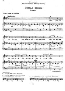 Romanzen: No.1 La princesse endormie by Alexander Porfiryevich Borodin