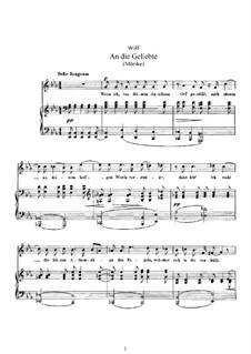 Mörike Lieder: Buch III by Hugo Wolf