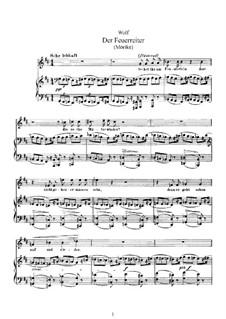 Mörike Lieder: Buch IV by Hugo Wolf