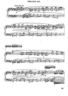 Präludium und Fuge Nr.13 in fis-Dur, BWV 858: Bearbeitung von Mugellini by Johann Sebastian Bach