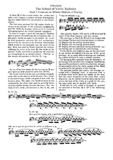 The School of Violin Technics: Buch III by Henry Schradieck