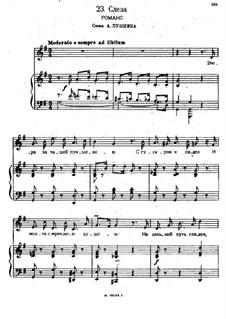 Songs and Romances (Book I), Nos.1-23: No.23 A Tear by Alexander Sergeyevich Dargomyschski