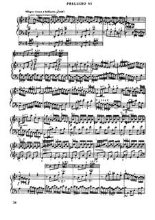 Präludium und Fuge Nr.6 in d-Moll, BWV 875: Für Klavier by Johann Sebastian Bach