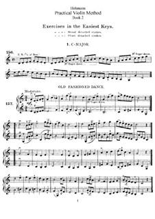 Practical Violin Method: Buch II by Christian Heinrich Hohmann