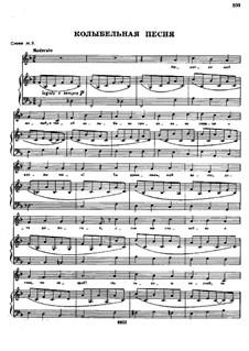 Songs and Romances (Book II): No.35 Lullaby by Alexander Sergeyevich Dargomyschski