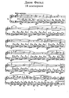 Nocturnes für Klavier: Nocturne Nr.1 by John Field