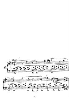 Nocturnes für Klavier: Nocturne Nr.10 by John Field
