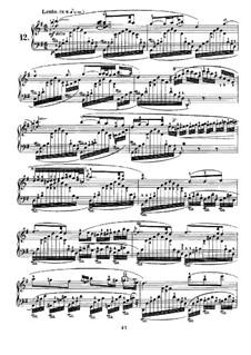 Nocturnes für Klavier: Nocturne Nr.12 by John Field