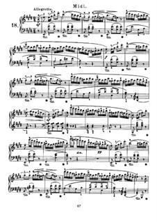 Nocturnes für Klavier: Nocturne Nr.18 by John Field