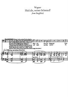 Siegfried, WWV 86c: Heil dir, weiser Schmied by Richard Wagner