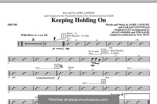 Keep Holding On: Drums part by Avril Lavigne, Lukas Gottwald