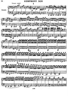 Sinfonie Nr.82 in C-Dur 'Der Bär', Hob.I/82: Version für Klavier, vierhändig by Joseph Haydn