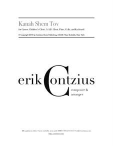 Kanah Shem Tov: Kanah Shem Tov by Erik Contzius