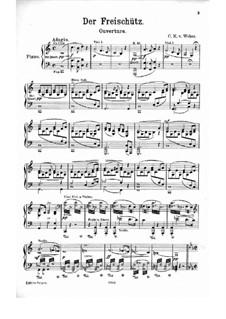 Ouvertüre: Für Klavier by Carl Maria von Weber