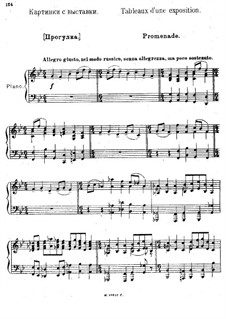Vollständiger Zyklus: Für Klavier by Modest Mussorgski