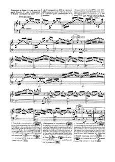 Sammlung I, Wq 55: Sonate Nr.1 in C-Dur by Carl Philipp Emanuel Bach