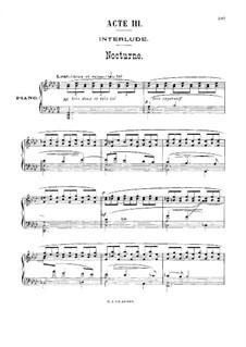 Antar: Akt III, für Stimmen und Klavier by Gabriel Dupont