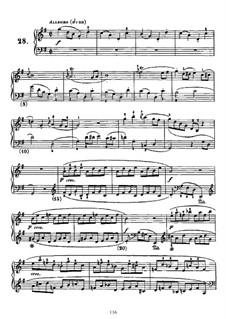 Sonate in G-dur, K.547 L.S28 P.551: Sonate in G-dur by Domenico Scarlatti