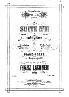 Suite Nr.3 in f-moll für Orchester, Op.122: Suite Nr.3 in f-moll für Orchester by Franz Paul Lachner