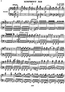 Sinfonie Nr.90 in C-Dur, Hob.I/90: Version für Klavier, vierhändig by Joseph Haydn