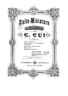 Suite Nr.1, Op.20: Suite Nr.1 by César Cui