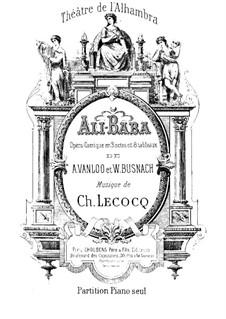Ali-Baba: Ali-Baba by Charles Lecocq