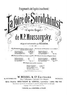 Fragmente: Introduktion für Klavier, vierhändig by Modest Mussorgski