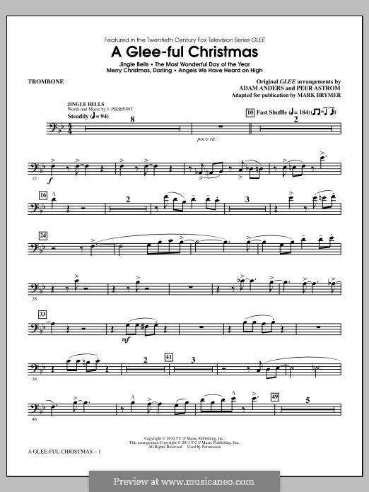 A Glee-ful Christmas (Choral Medley): Posaunenstimme by James Lord Pierpont