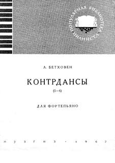 Zwölf Kontretänze für Orchester, WoO 14: Contredanses Nr.1-6 by Ludwig van Beethoven