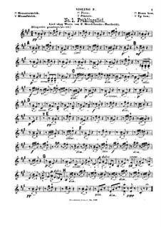 Violin-Terzette. Heft IV: Violinstimme II by Joseph Haydn, Wolfgang Amadeus Mozart, Felix Mendelssohn-Bartholdy, Ludwig van Beethoven