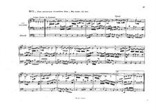Sämtliche Werke für Orgel: Band II, Heft IV, Nr.7-18 by Johann Sebastian Bach
