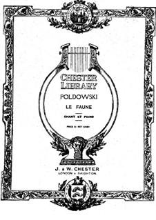 Le Faune: Le Faune by Poldowski
