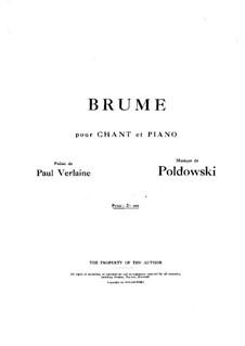 Brume: Brume by Poldowski