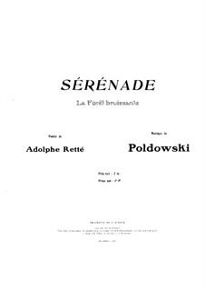 Serenade für Stimme und Klavier: Serenade für Stimme und Klavier by Poldowski