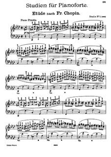 Fünf Studien zu den Themen aus Werken verschiedener Komponisten: Vollsammlung by Johannes Brahms