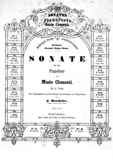 Drei Sonaten , Op.40: Sonate Nr.1 by Muzio Clementi