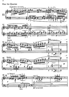 Etüden, L.136: Nr.3 Pour les quartes by Claude Debussy