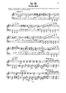 Der Dämon: Akt III, für Stimmen und Klavier by Anton Rubinstein