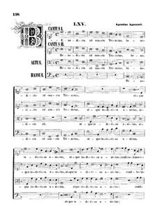 Benedicta sit sancta Trinitas: Für gemischten Chor by Agostino Agazzari