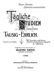 Tägliche Studien: Buch II by Carl Tausig