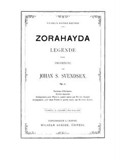 Zorahayda, Op.11: Für Orchester by Johan Svendsen