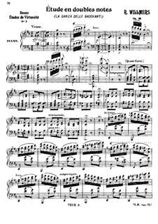 Etude in Double Notes, Op.28: Etude in Double Notes by Heinrich Rudolph Willmers