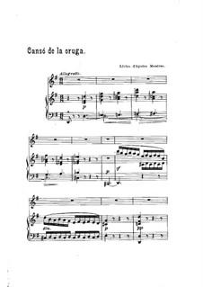 Cansó de la oruga: Cansó de la oruga by Francisco Alió