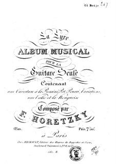 Musical Album for Guitar: Musical Album for Guitar by Felix Horetzky