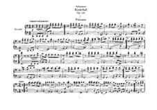 Kinderball, Op.130: Stimmen by Robert Schumann